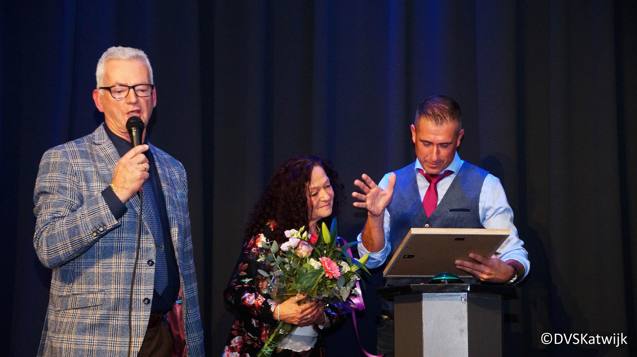 Leo de Vreede tambour-maître DVS Katwijk Lid van Verdienste